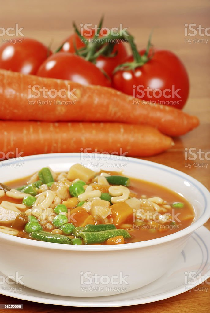 vegetable soup royalty-free stock photo