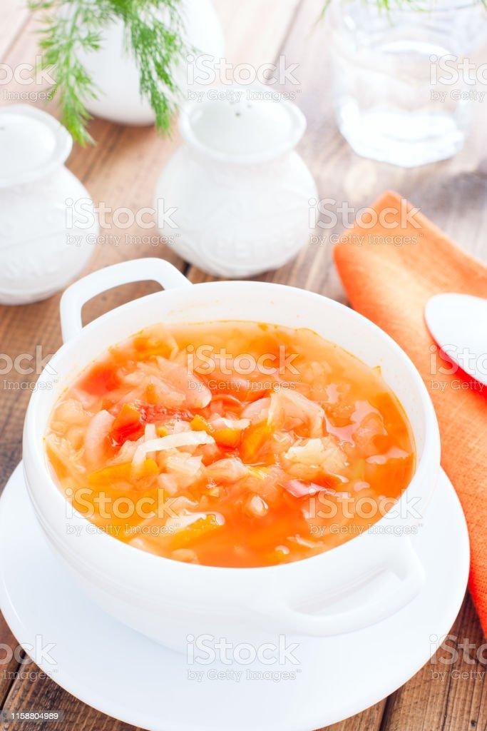 la dieta de la sopa de cebolla y repollo