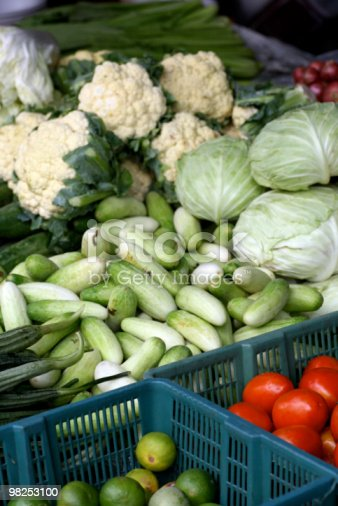 Vegetable Stall Stock Photo & More Pictures of Antioxidant