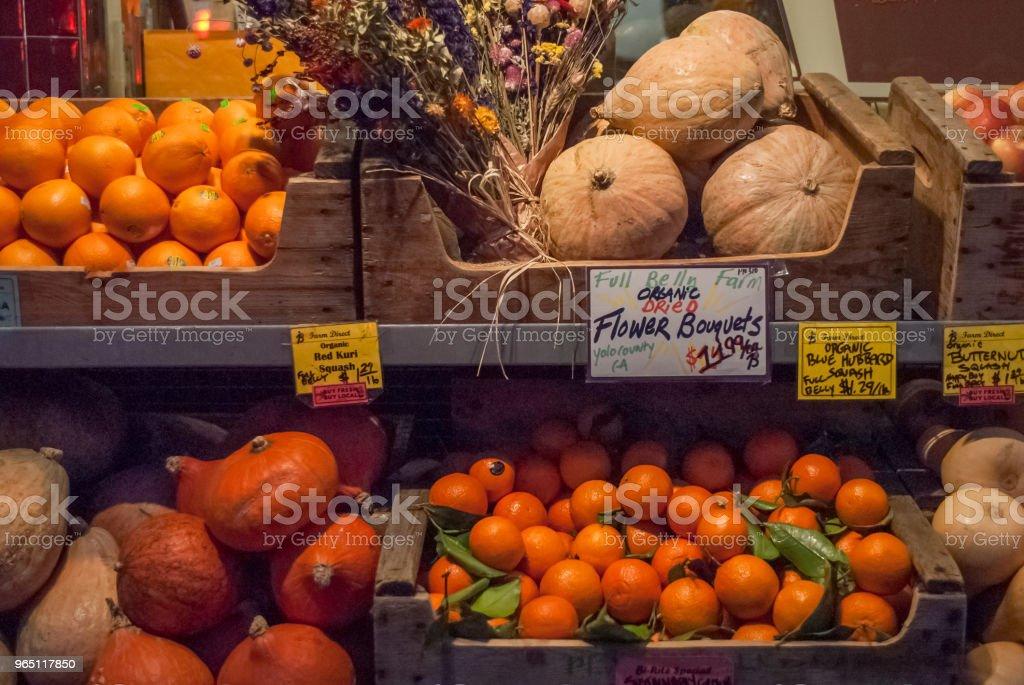 Vegetable Stand zbiór zdjęć royalty-free