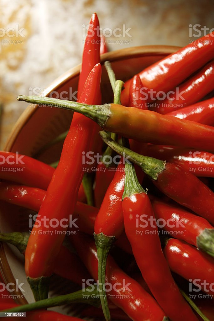 Vegetable Stills: Chili Pepper Red royalty-free stock photo