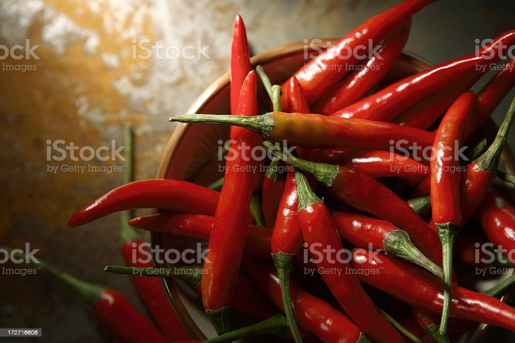 Vegetable Stills: Chili Pepper Red stock photo