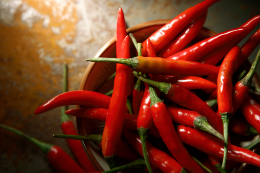 Vegetable Stills Chili Pepper Red Stock Photo - Download Image Now