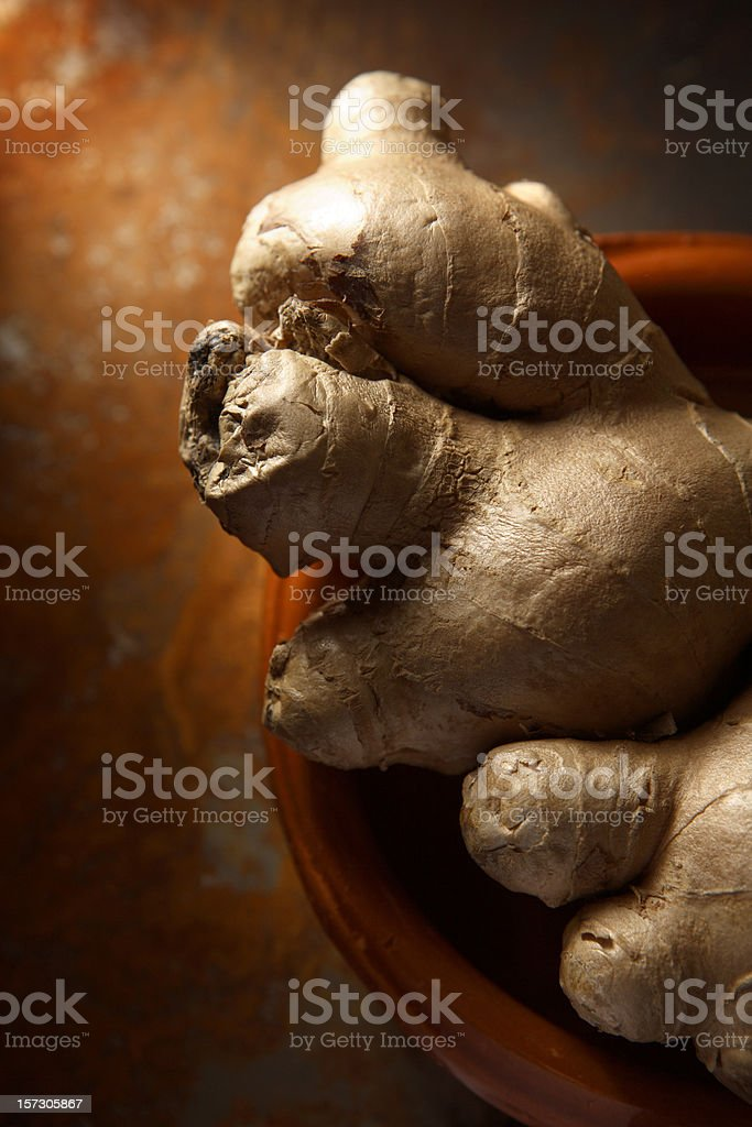 Vegetable Stills: Ginger royalty-free stock photo