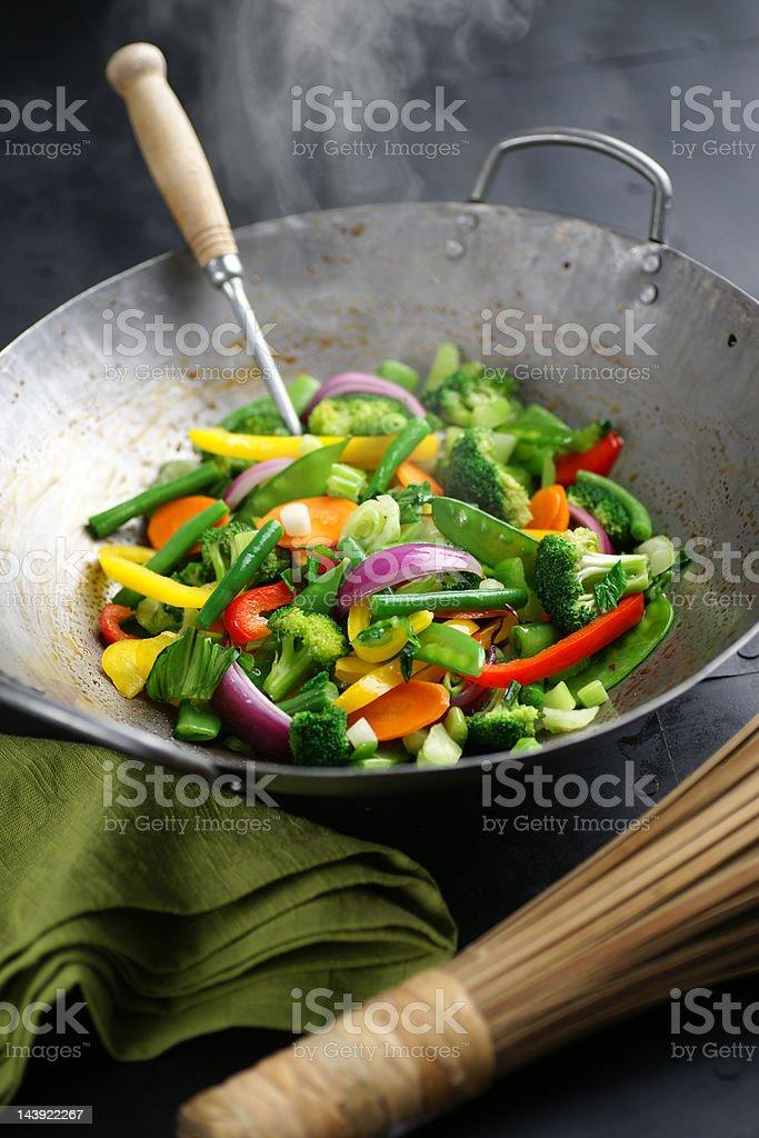 Vegetable Stir Fry stock photo