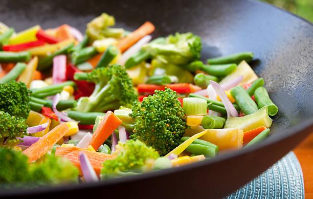 Stir Fry Gemüse – Foto