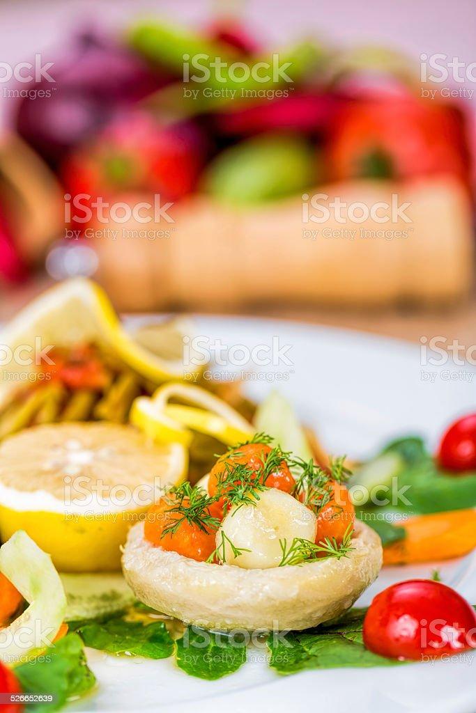 Verdure con olio d'oliva - foto stock