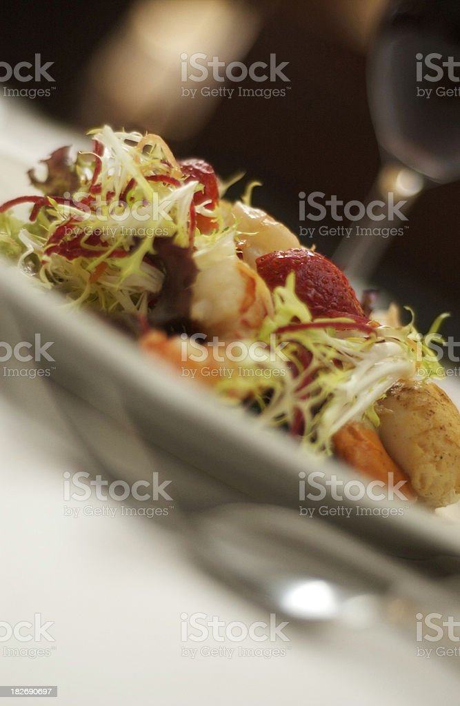 Vegetable/Fruit Salad royalty-free stock photo