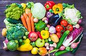 野菜や果物ます。
