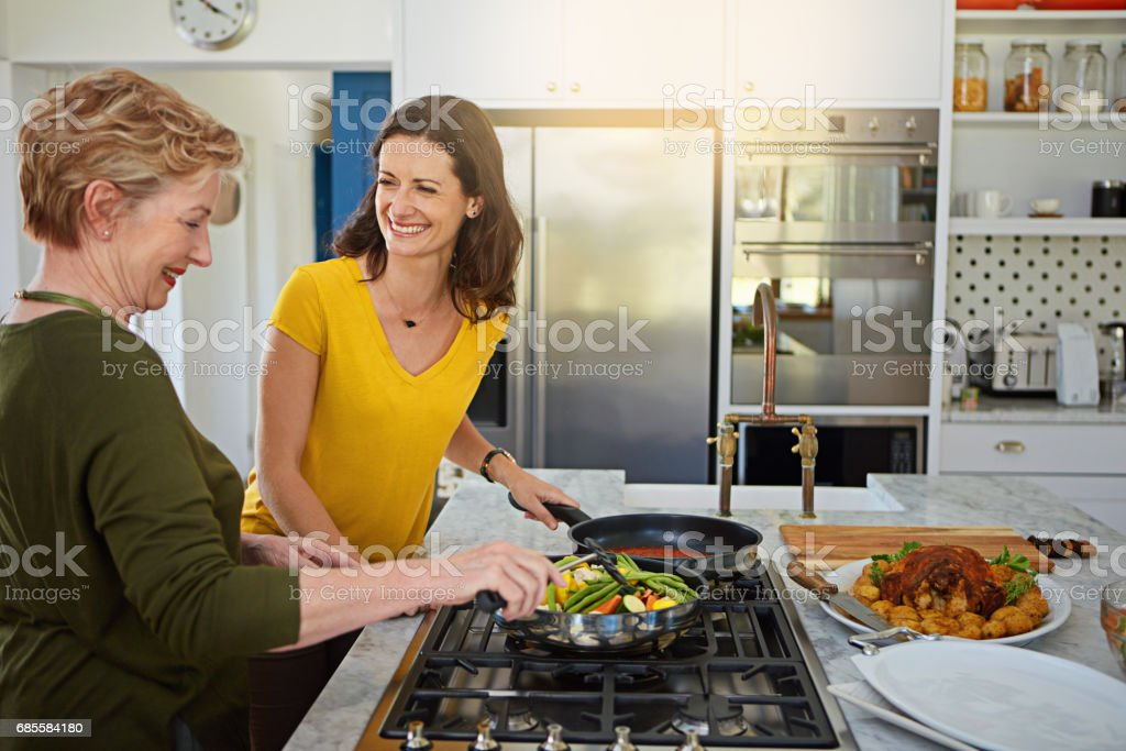 Vegetables are the perfect side dish for any meal royalty-free stock photo