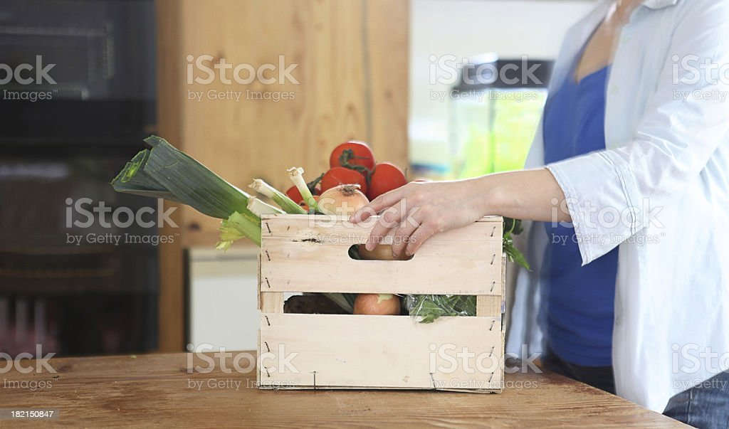 vegetables arrived royalty-free stock photo