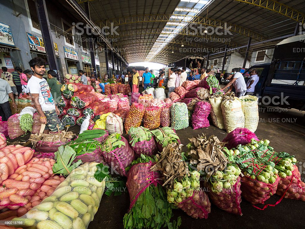 Wholesale vegetable market