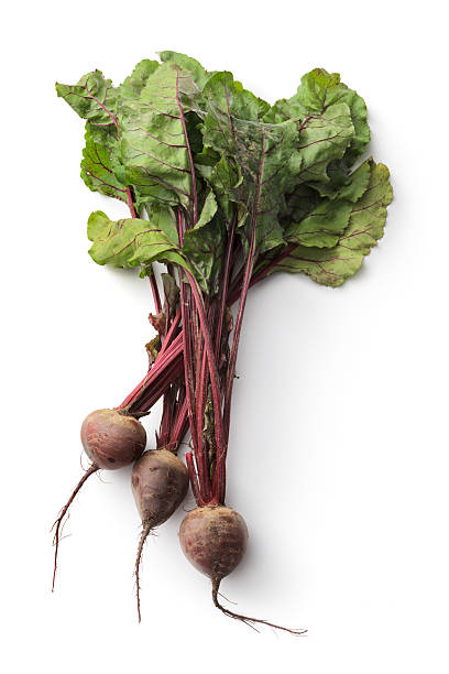 Vegetables: Beetroot Isolated on White Background stock photo