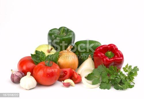vegetables composition