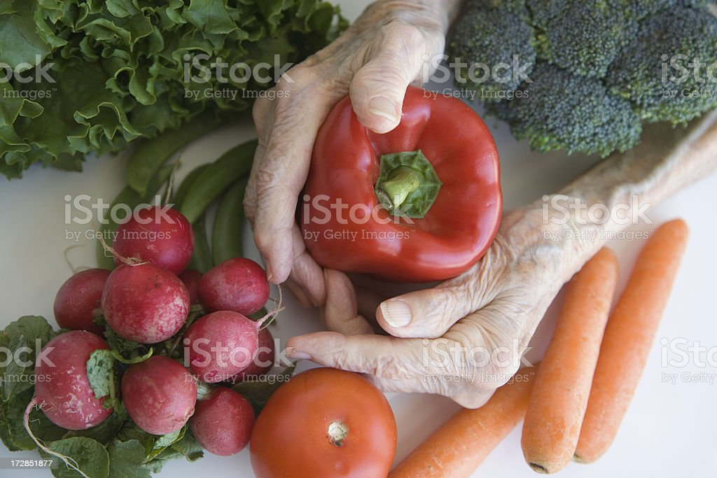 Vegetables For Life! royalty-free stock photo