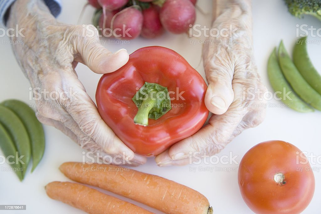 Vegetables For (Long) Life royalty-free stock photo