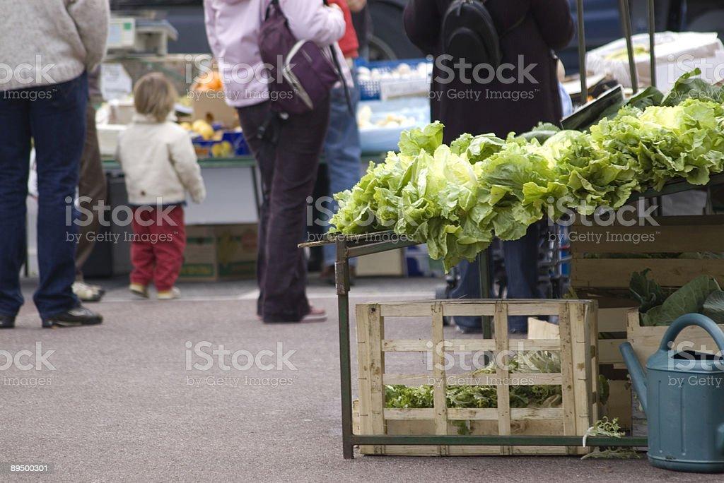Verdure per la vendita foto stock royalty-free