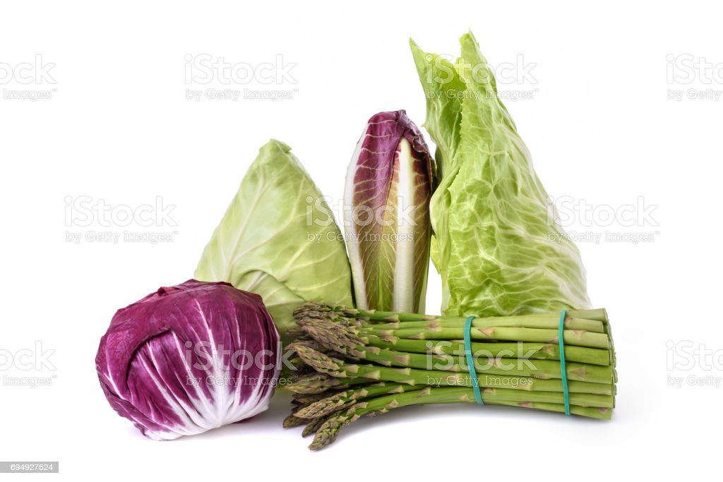 Vegetables group isolated stock photo