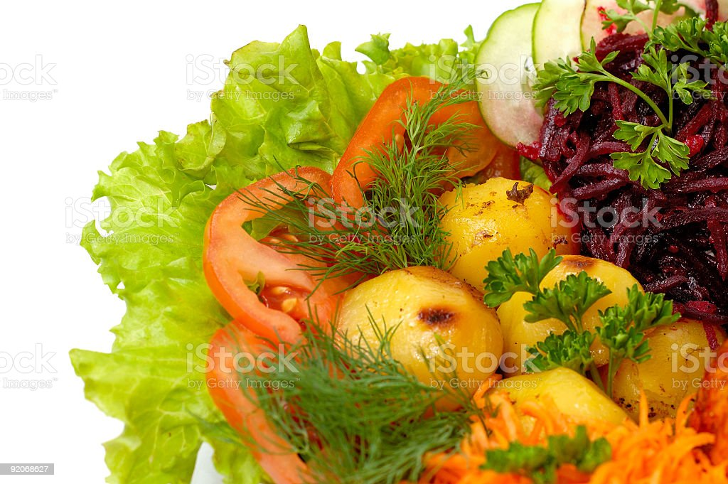 Vegetables healthy food background isolated royalty-free stock photo