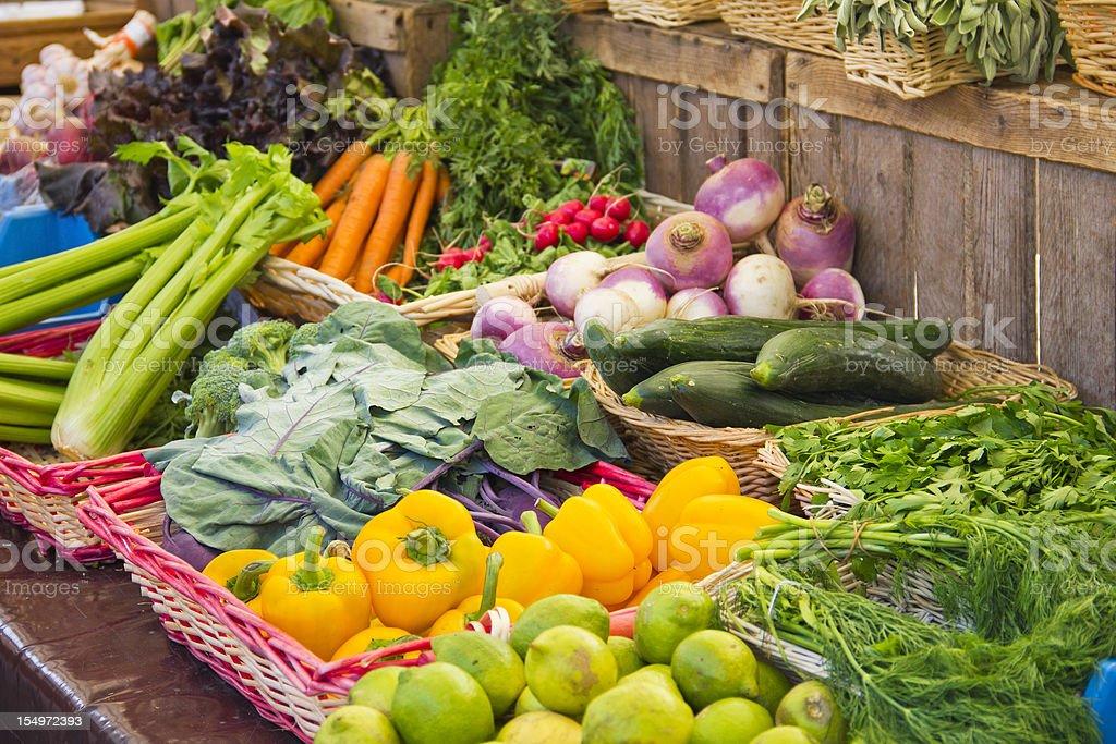 Gemüse in einem Markt – Foto