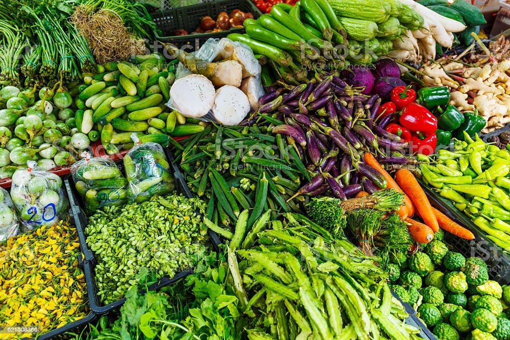 Gemüse in einem Markt Lizenzfreies stock-foto