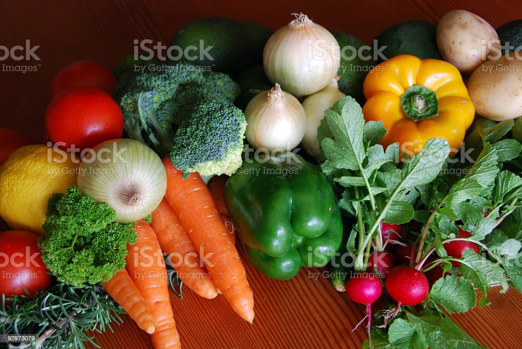 Vegetables in Season royalty-free stock photo