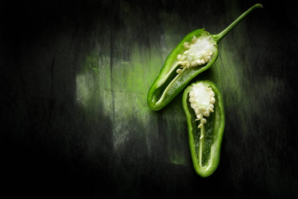 Vegetables: Jalapeno Pepper Still Life Vegetables: Jalapeno Pepper Still Life jalapeno pepper stock pictures, royalty-free photos & images