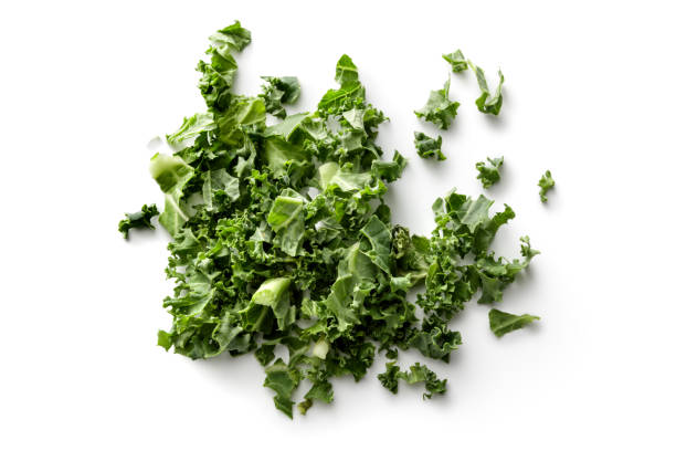 Vegetables: Kale Isolated on White Background Vegetables: Kale Isolated on White Background kale stock pictures, royalty-free photos & images
