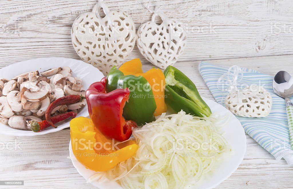 vegetables letscho royalty-free stock photo