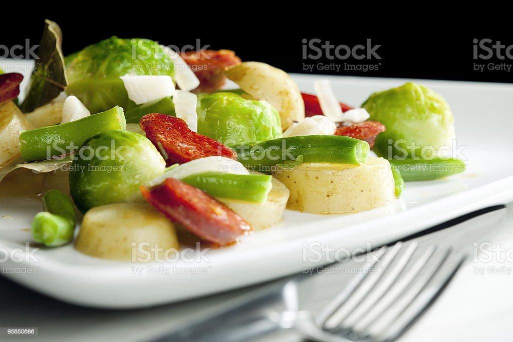 Gemüse-Mix - Lizenzfrei Bohne Stock-Foto
