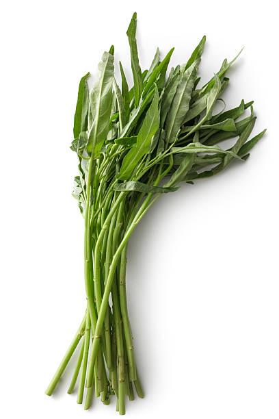 Legumes : Manhã Glória isolado no fundo branco - foto de acervo