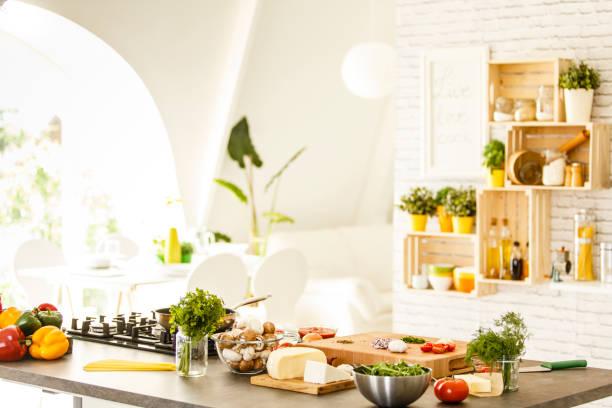 Vegetables mushrooms and cheese on countertop picture id641182894?b=1&k=6&m=641182894&s=612x612&w=0&h=uk44lwbxtkg6lguzhpxqbiycrosb0hmhgvoh8filnfw=