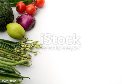 507328769 istock photo Vegetables on a white background 503776550
