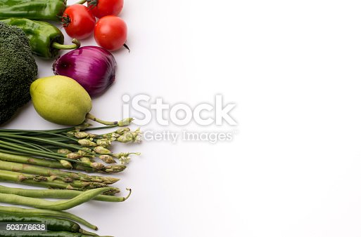 507328769 istock photo Vegetables on a white background 503776638