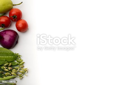 507328769 istock photo Vegetables on a white background 503776672