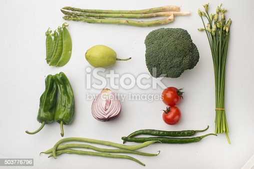 507328769 istock photo Vegetables on a white background 503776796