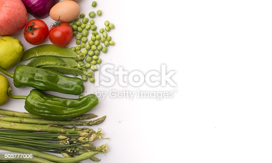 507328769 istock photo Vegetables on a white background 503777006