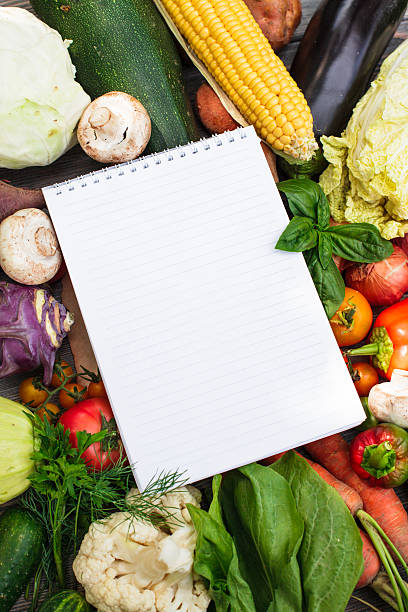 Gemüse auf Holztisch – Foto