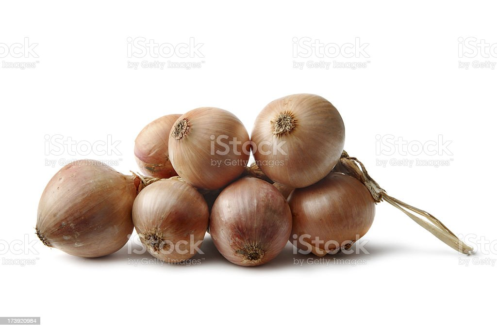Vegetables: Onion Isolated on White Background royalty-free stock photo
