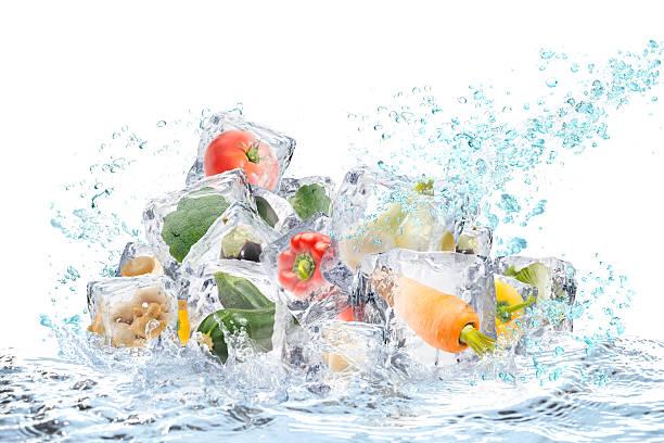 legumes  - comida congelada - fotografias e filmes do acervo