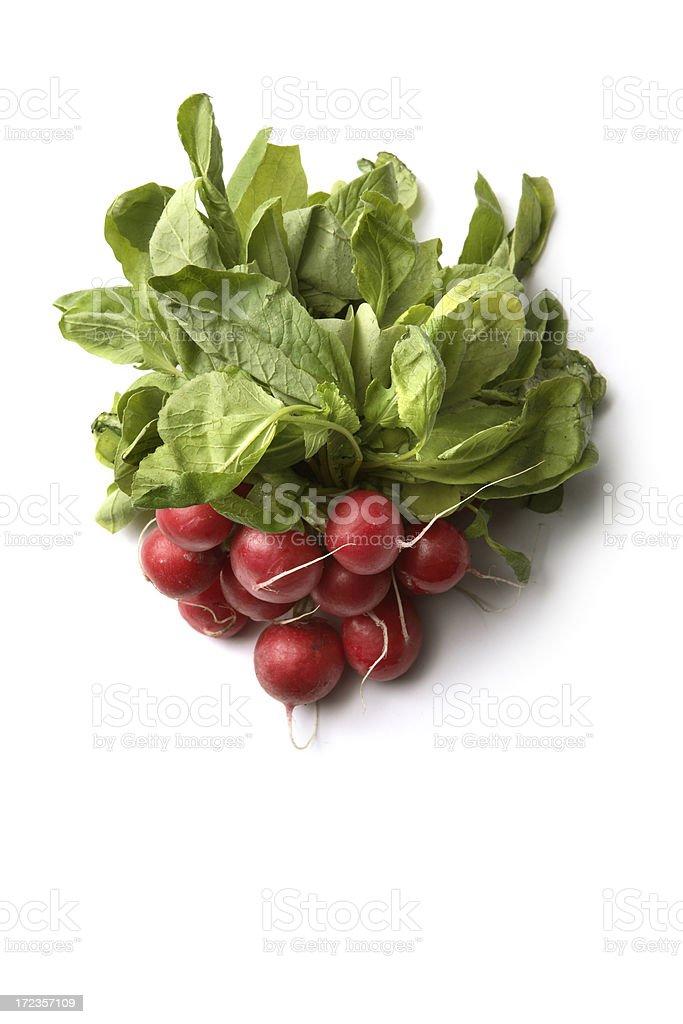 Vegetales: Rábano foto de stock libre de derechos
