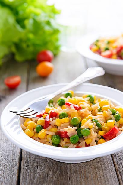 Gemüse-risotto – Foto