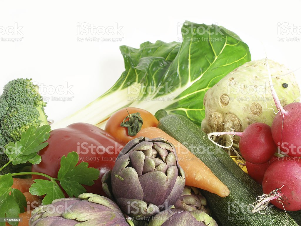 Vegetables still life royalty-free stock photo
