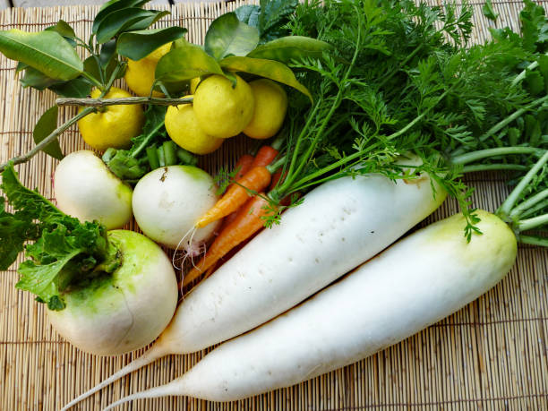 Vegetables(Winter) Vegetables brassica rapa stock pictures, royalty-free photos & images