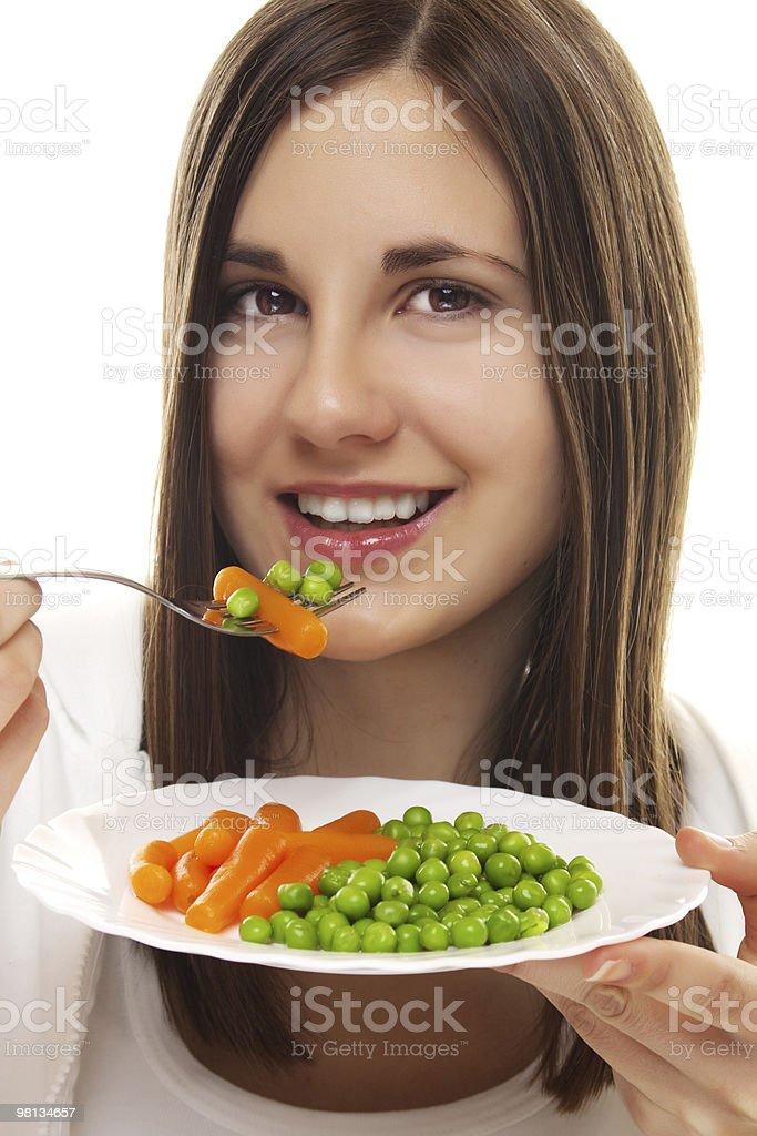 Vegetarian diet royalty-free stock photo