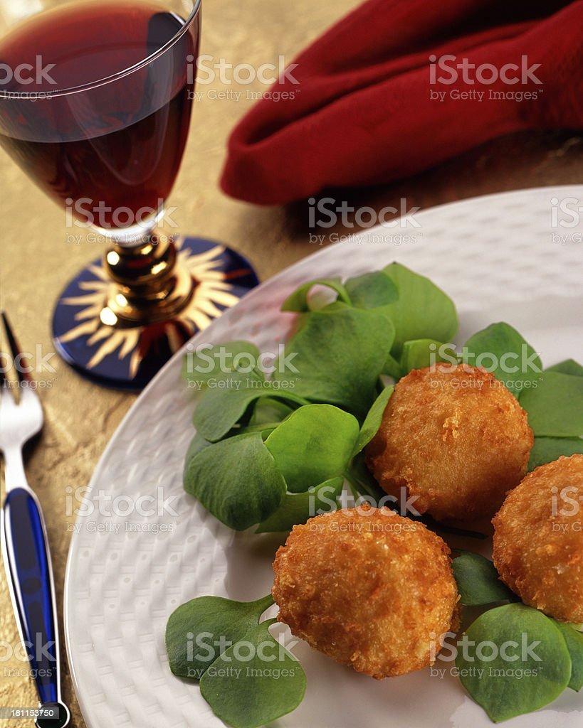 Vegetarian dinner royalty-free stock photo