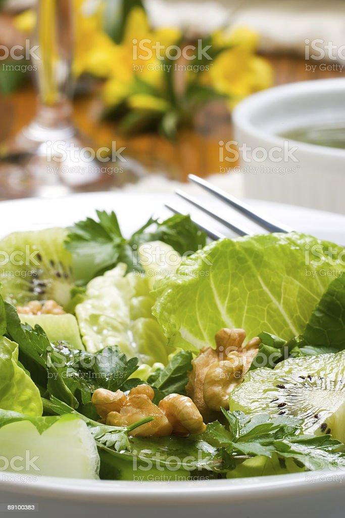 Vegetarisches Abendessen. Lizenzfreies stock-foto