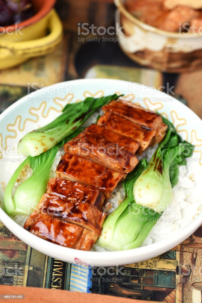 Vegetarian Duck stock photo
