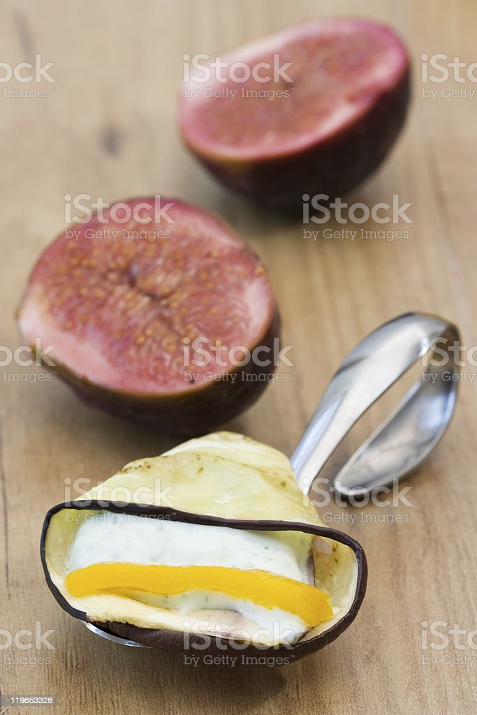 Vegetarian Fingerfood stock photo