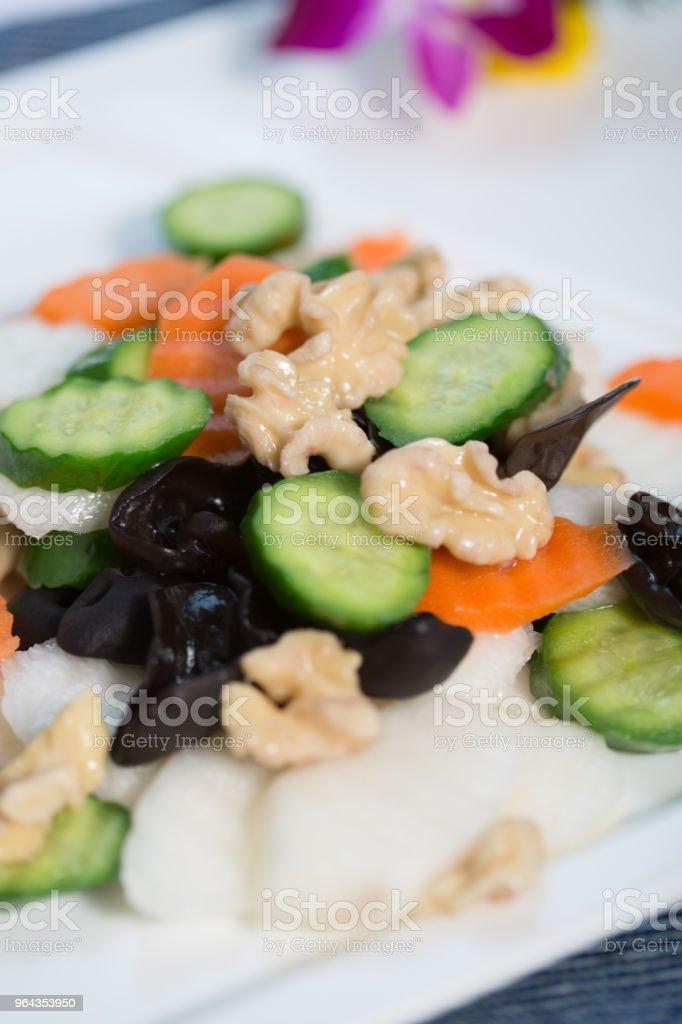 Comida vegetariana culinária - Foto de stock de Alimentação Saudável royalty-free